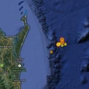 """퀸즈랜드에 """"100년만에 최대지진"""" 발생"""