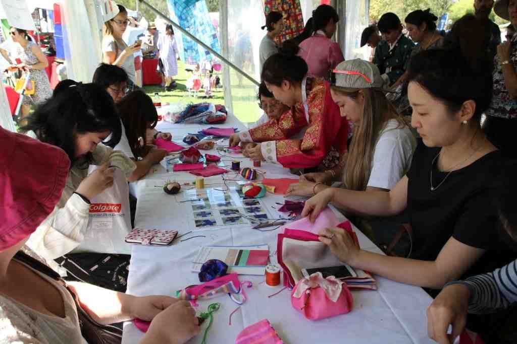 Sydney Korean Festival, Korean Textile Craft