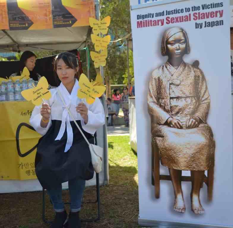 Sydney Korean Festival 'Comfort Women' campaign