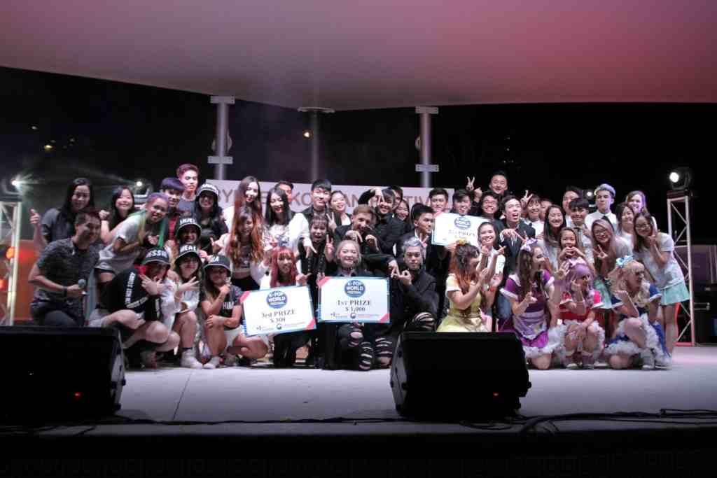 Sydney Korean Festival, K-pop cover dance competition