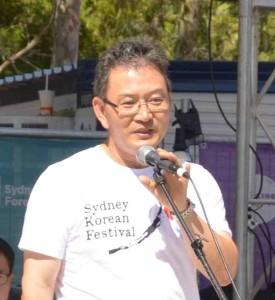 Sydney Korean Festival, Mr. Kay Lee
