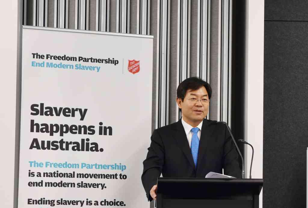 Consul-General Yoon, Sydney