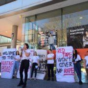 시드니대 여학생 '성폭행' 항의시위