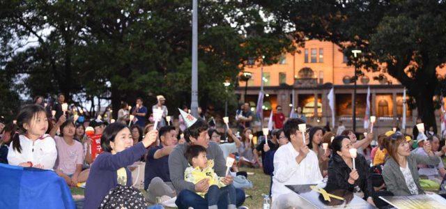 촛불이 모여 횃불로 – 10일 탄핵가결 후 호주 촛불집회