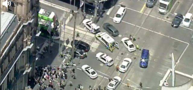 멜번 도심서 차량 보행자에 질주 <br> 3명 사망 &#8211; 20여명 부상