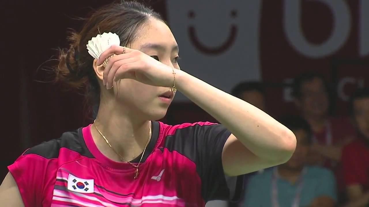 2017 Sudirman Cup Sung Jihyun