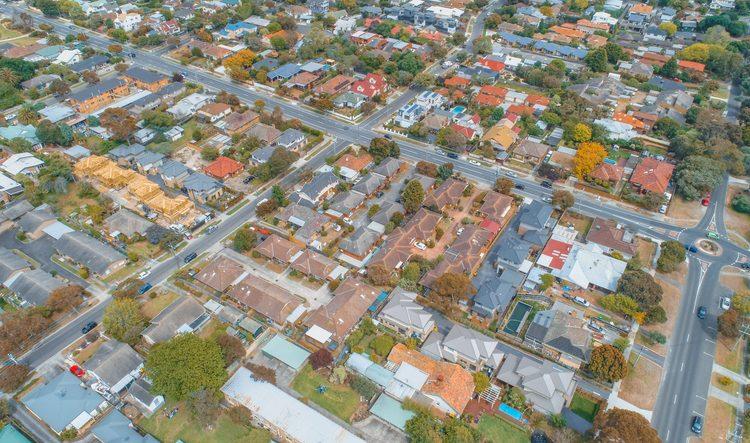 호주 부동산 급락 현대사 최악