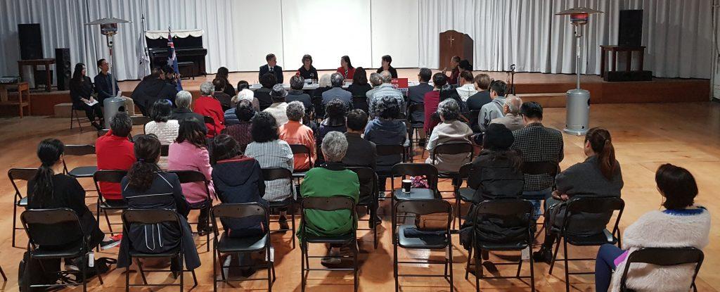Korean Community election Q&A 2019