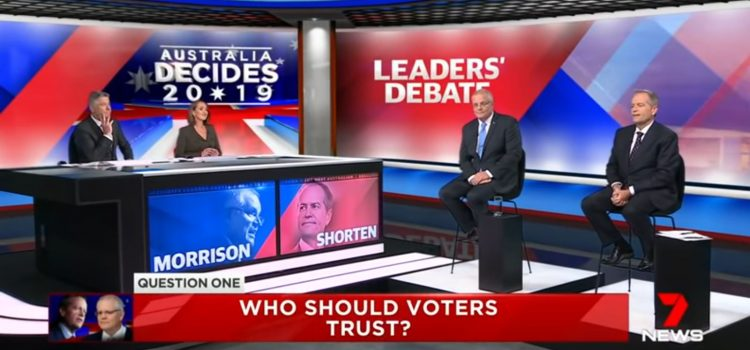 모리슨 총리-쇼튼 노동당수 첫 TV 토론, 팩트는?