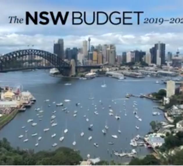 2919-20 NSW 주정부 예산 이득은 누구, 손해는 누가?