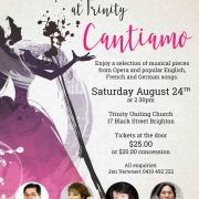 Cantiamo! A Musical Moment at Trinity