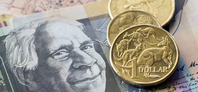 호주달러화 10년만에 최저치로 추락