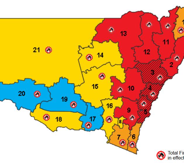 NSW 비상사태 선포