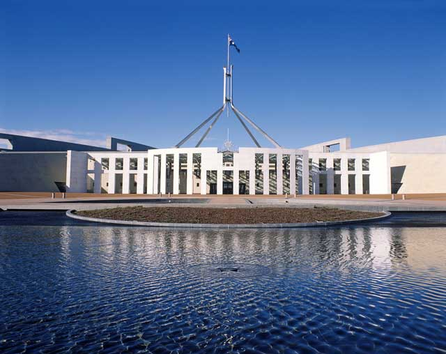 Parliament House, Canberra, ACT,