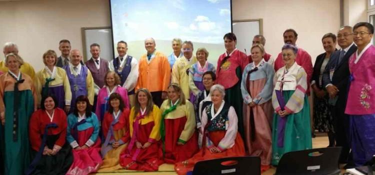 한국에 가는 호주 교장 선생님