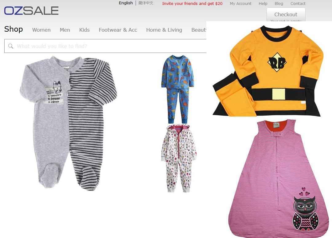 위험 아동용 잠옷 판매에 벌금 50만달러