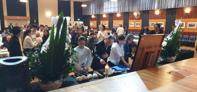 5.18 광주민주화운동  제39주년 기념식 시드니-멜번서 열려