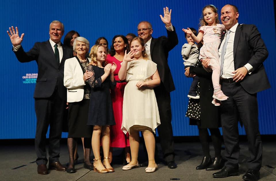 Scomo election launch Melbourne