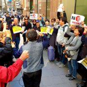 14일 시드니 수요시위, 일본정부 '공식사과' 촉구