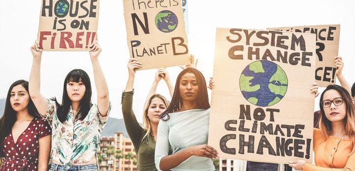 싸울 준비가 됐다: '약탈적' 기후변화 부정론자는 우리 자손에 위협