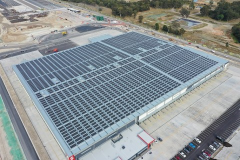 LG전자, 호주 최대 물류단지에 초고효율 태양광 모듈 공급