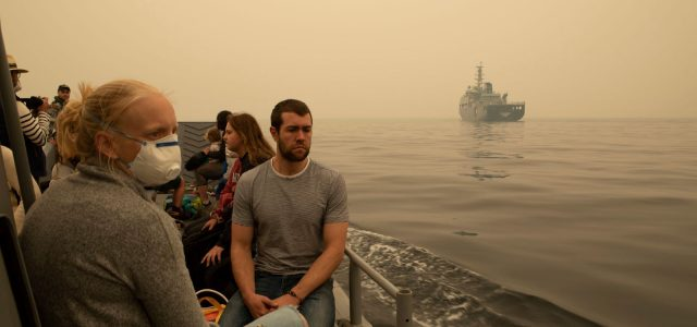 [호주산불] 말라쿠타 이재민 모두 대피 <br> 10일(금) VIC 북부 지역 화재위험 'extreme'