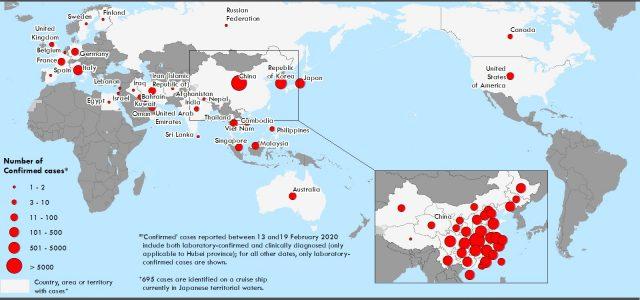 WHO, 코로나19 '세계적 유행병' 아냐