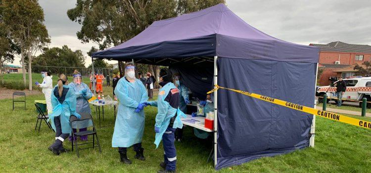 VIC 코로나19 가족집단 발병 비상<br>Keilor Downs·Broadmeadows 포함 10개 우선지역 대대적 지역사회 검사