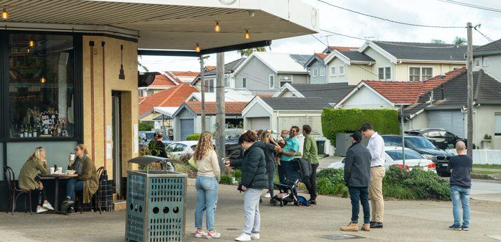 NSW 7월 1일부터 실내 집합 1인당 4m<sup>2</sup> 규칙만 적용