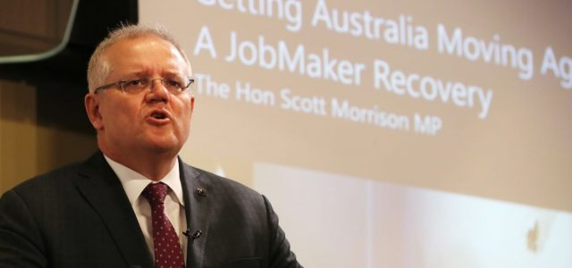 모리슨 총리 호주 경제 복구 핵심은 '규제완화' <br> 기반시설 15억 달러 지출 앞당기고 15개 우선 사업 신속 처리