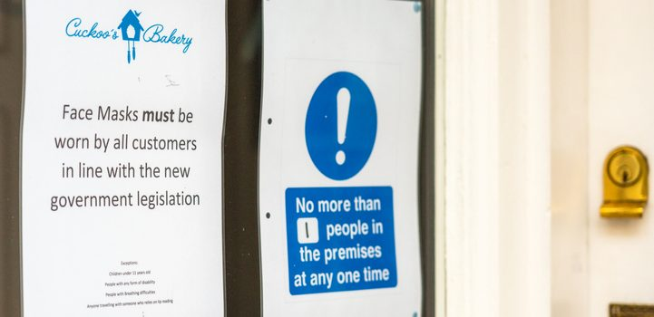 WHO 마스크 사용 지침 변경 <br> 광범위한 지역사회 전파시 거리두기 불가능하면 마스크 착용 장려해야