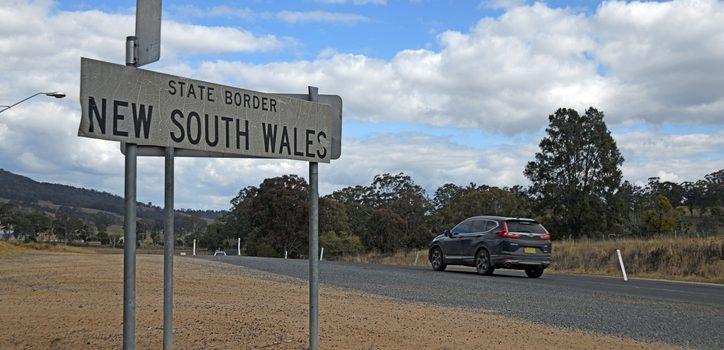 NSW, 빅토리아주경계 규제 완화, 25일 신규확진자 3명
