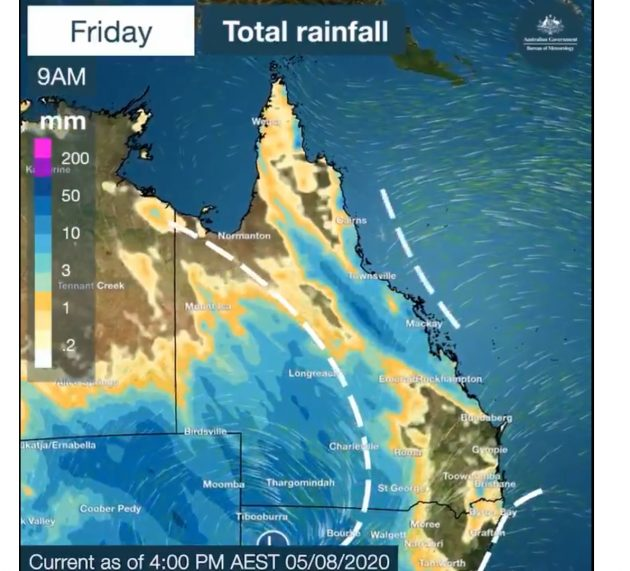 8월 첫 주 호주 남부 강추위