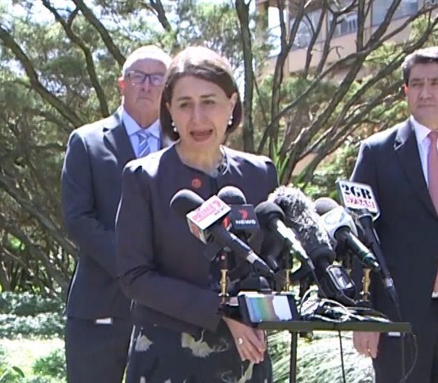 NSW 학교・스포츠・결혼식 규제 완화 지역사회 확산 제로 3일째