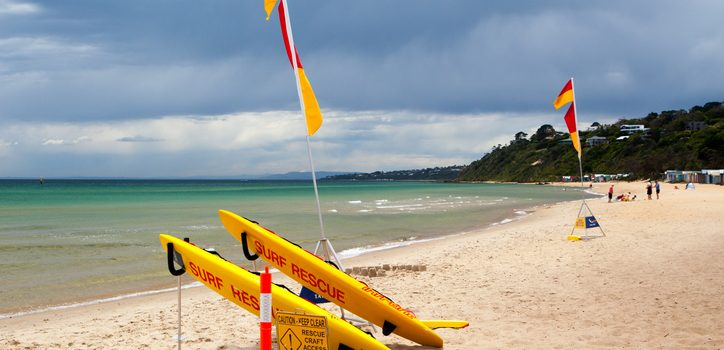 빅토리아주 올여름 익사 사고 빈발-1주일에 5명 사망 <br> 수영은 구조요원 순찰 구역에서
