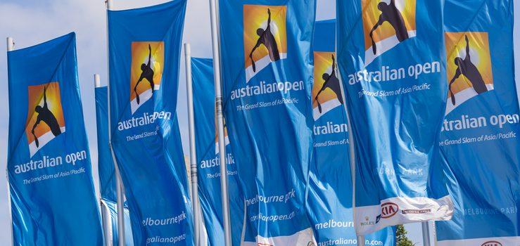 호주오픈 테니스 선수단 3명 영국변이 확진