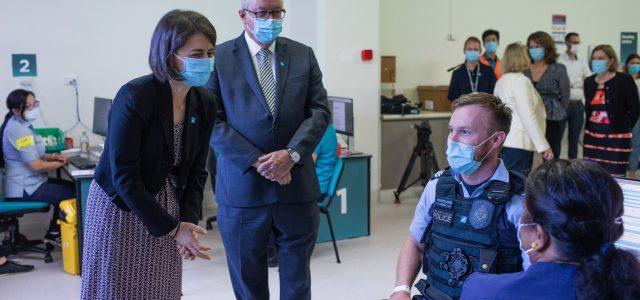 NSW 백신 접종 계획보다 더 빨리 진행될 수도, 베레지클리안 주총리