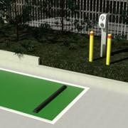 스트라스필드시 전기차 충전소 설치