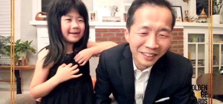 '미나리' 골든글로브 최우수 외국어영화상 수상