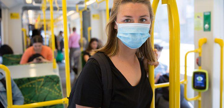 VIC 26일 6pm부터 마스크 착용은 대중교통-요양시설・병원만 의무