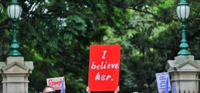 March 4 Justice, 호주 전역 수만명 성폭력 조사 촉구 시위