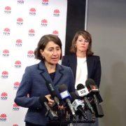 NSW 주정부 홈부시에 대규모 예방접종 허브 설치한다.