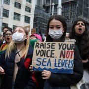 Raise your voice. Not sea levels